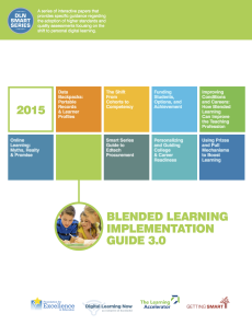 Blended Learning Implementation Guide